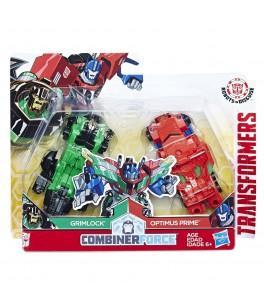 Hasbro Transformers RID Kombinátor - Grimlock a Optimus Prime HASBRO