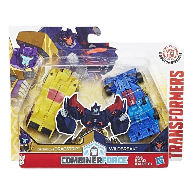 Hasbro Transformers RID Kombinátor - Decepticon Dragstrip a Wildbreak HASBRO