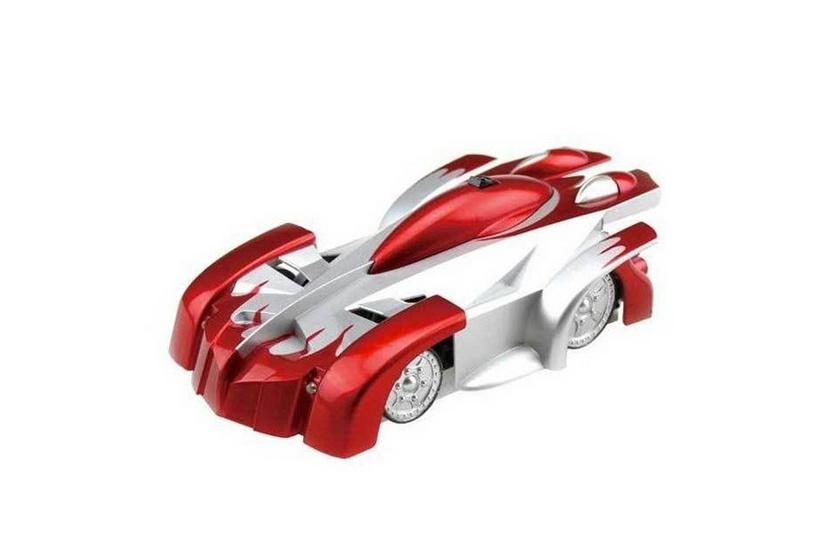 Mac Toys Auto jezdící po stěně - Červená barva
