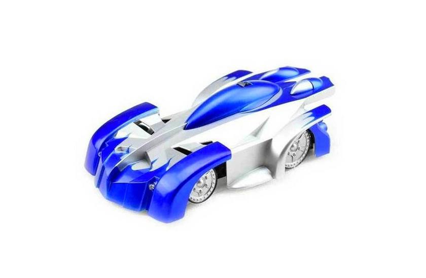 Mac Toys Auto jezdící po stěně - Modrá barva