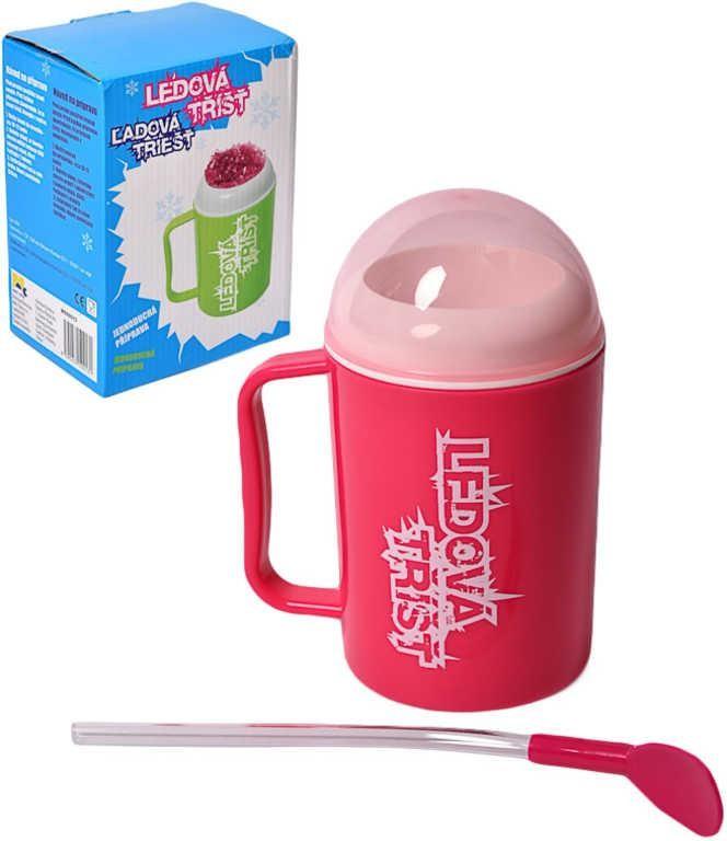 Mac Toys Výroba ledové tříště - Růžová barva