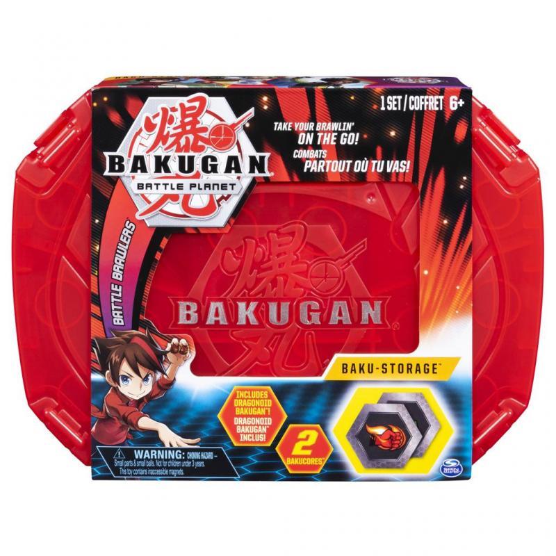 Spin Master Bakugan Sběratelský kufřík Červený
