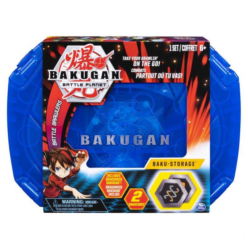 Spin Master Bakugan Sběratelský kufřík Modrý