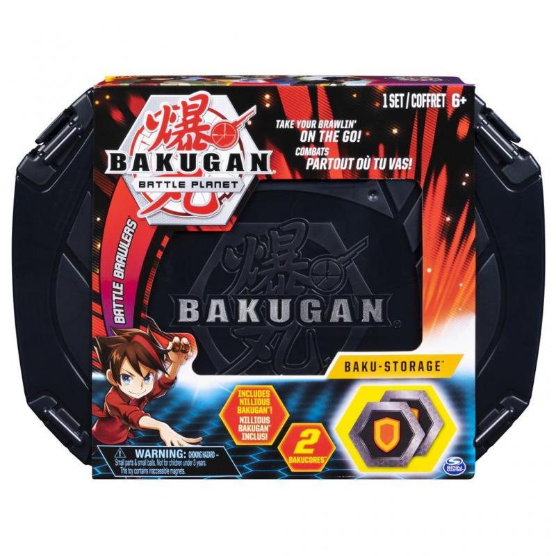 Spin Master Bakugan Sběratelský kufřík Černý