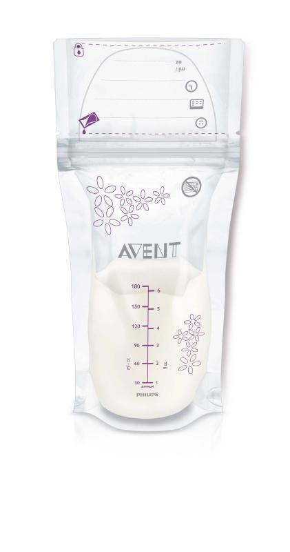 AVENT Sáčky na mateřské mléko 180 ml 25 ks