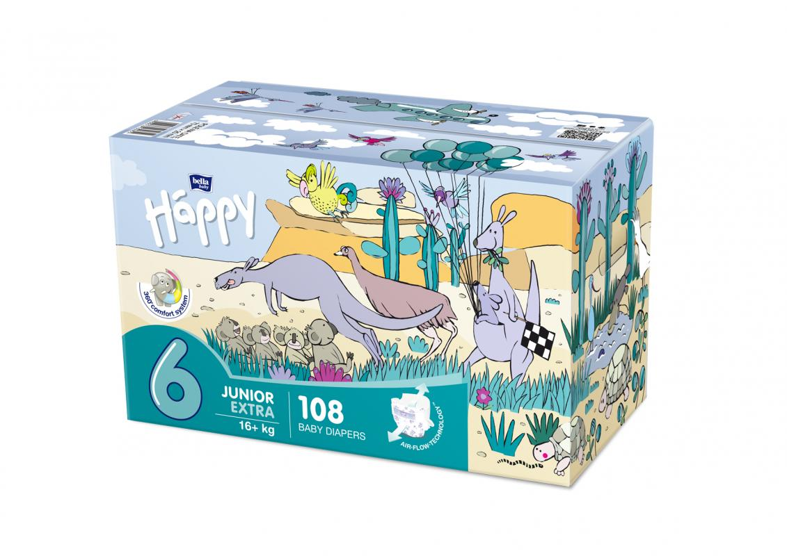 Bella Baby Happy Junior Extra Box 54 x 2