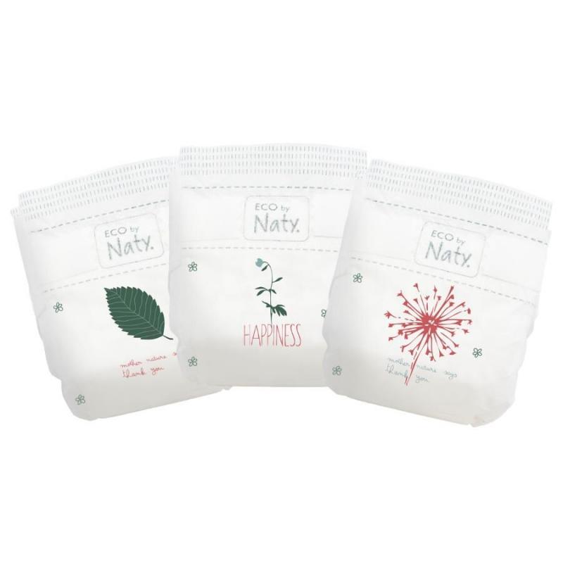 Eco by Naty Plenky Midi 4-9 kg (30 ks)