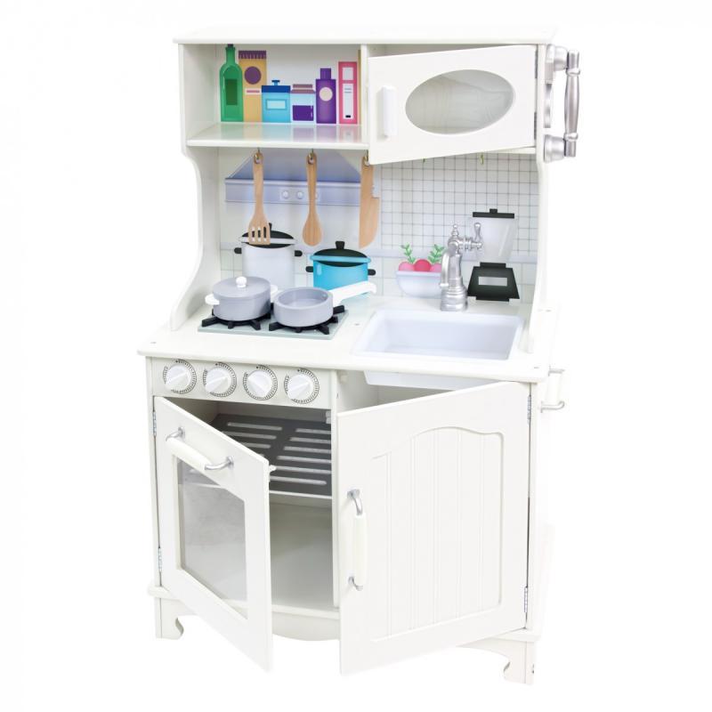 """Bino Dětská kuchyňka """"Provence""""bílá"""