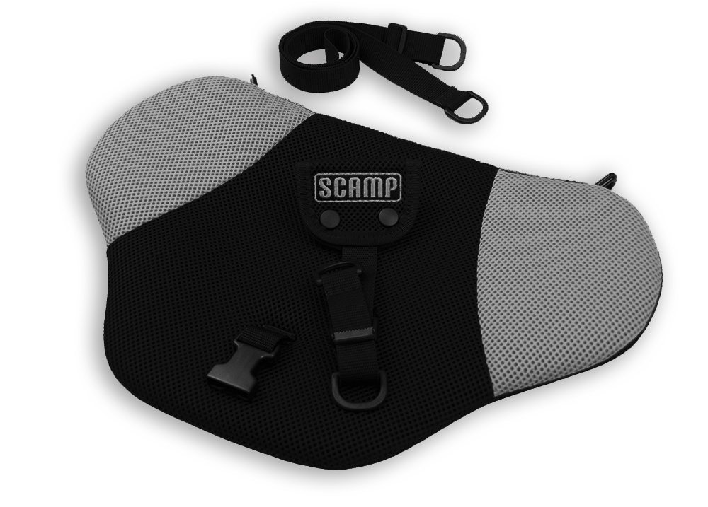 Scamp bezpečnostní pás pro těhotné Comfort Isofix, šedý