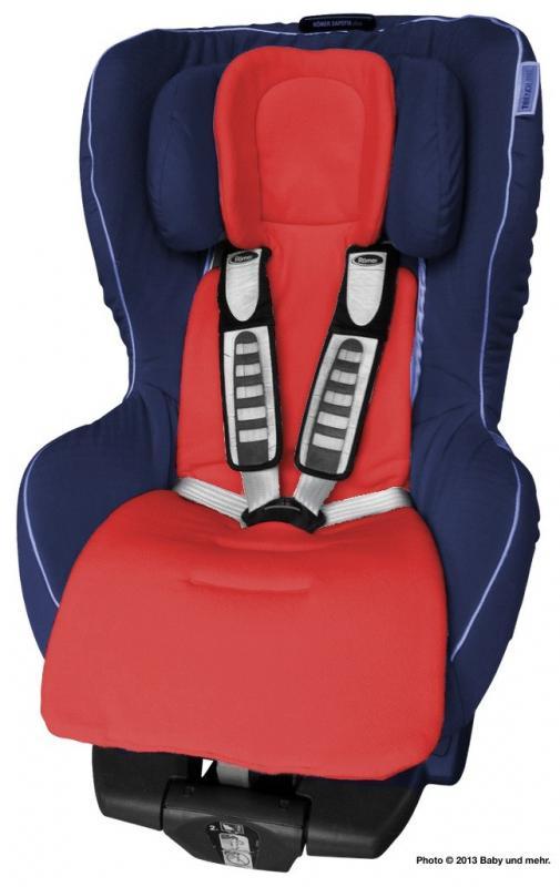 ByBoom Univerzální vložka Comfort do kočárku a autosedačky, Červená