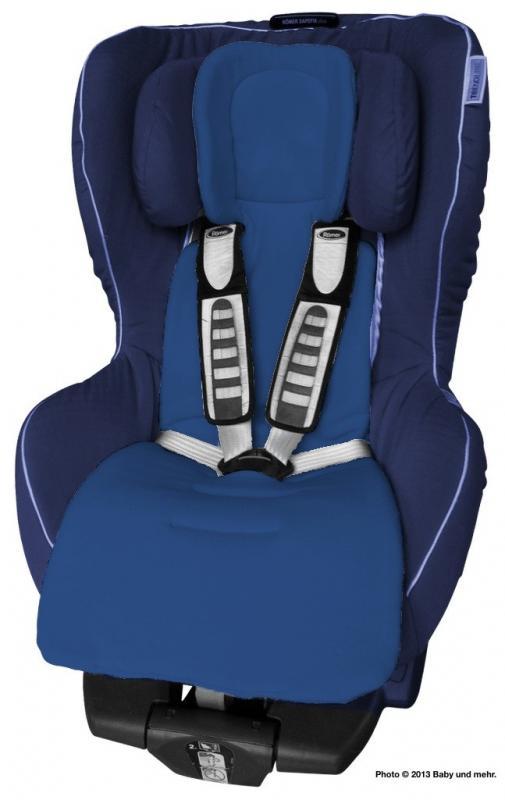 ByBoom Univerzální vložka Comfort do kočárku a autosedačky, Tmavě modrá/Modrá