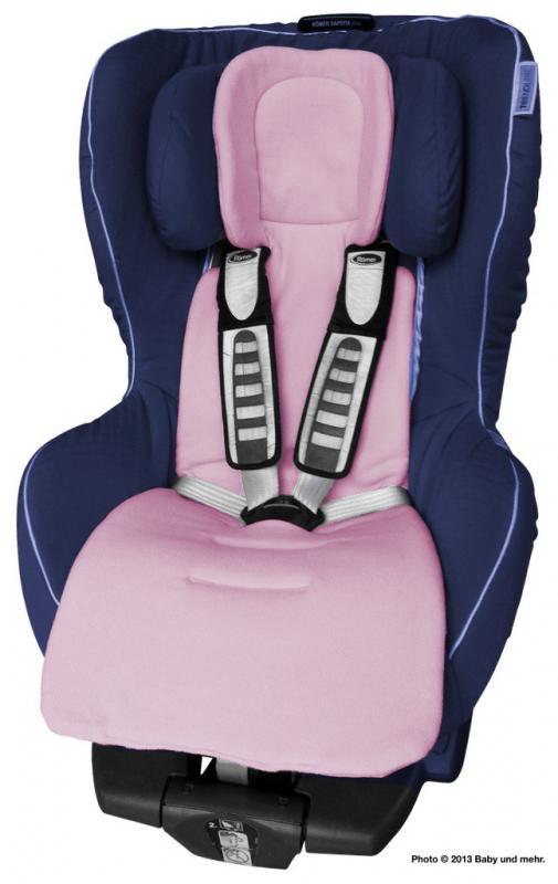 ByBoom Univerzální vložka Comfort do kočárku a autosedačky, Růžová