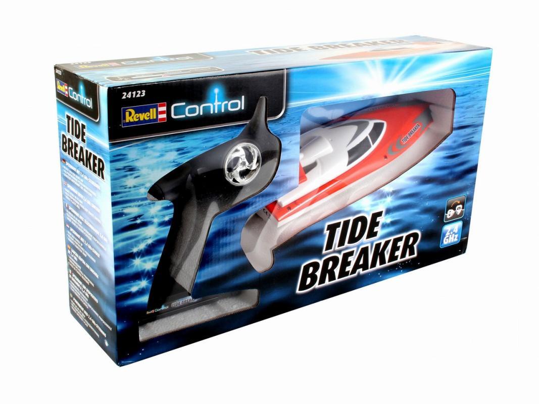 Corfix Loď REVELL 24123 - Tide Breaker - oranžová