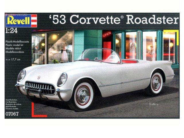 Corfix Plastic ModelKit auto 07067 - ''53 Corvette Roadster (1:24)