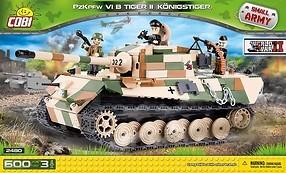 Cobi PzKpfw VI Tiger II, 630 k, 3 f
