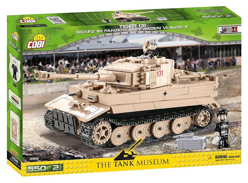 Cobi II WW Tiger I nr 131, 550 k, 2 f