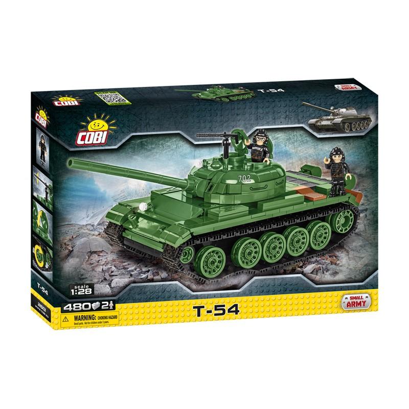 Cobi Tank T-54, 1:28, 480 k, 2 f