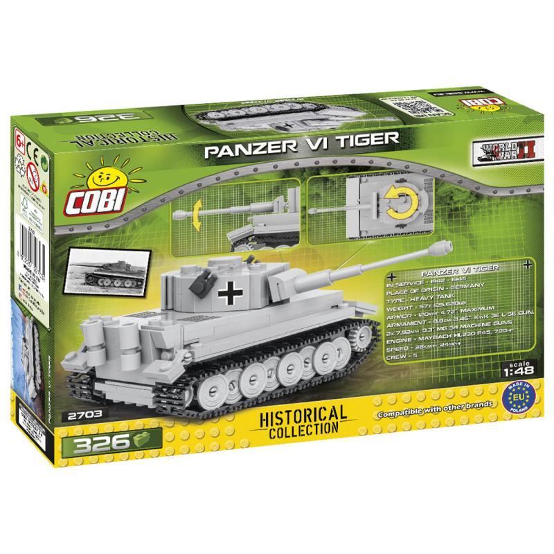 Cobi Tank Tiger VI, 1:48, 326 k