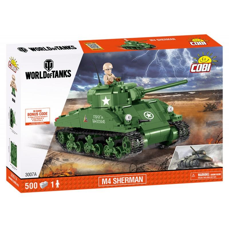 COBI WOT Sherman A1/Firefly (2 v 1) 450 k