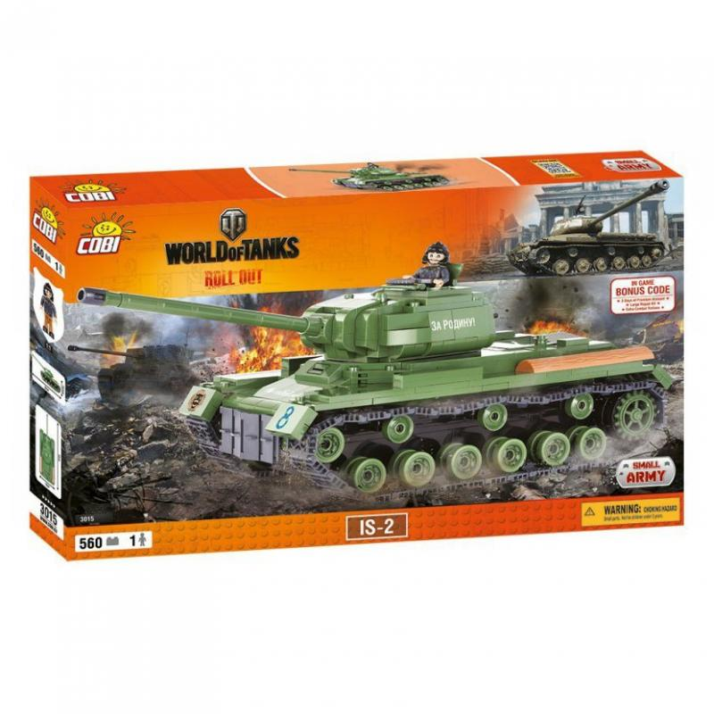 Cobi World od Tanks IS-2, 560 k, 1 f