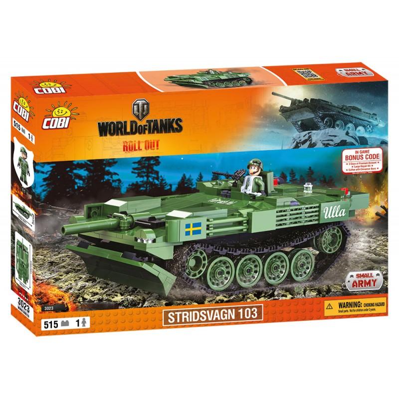 Cobi World of Tanks Stridsvagn 103 (S-Tank), 515 k, 1 f