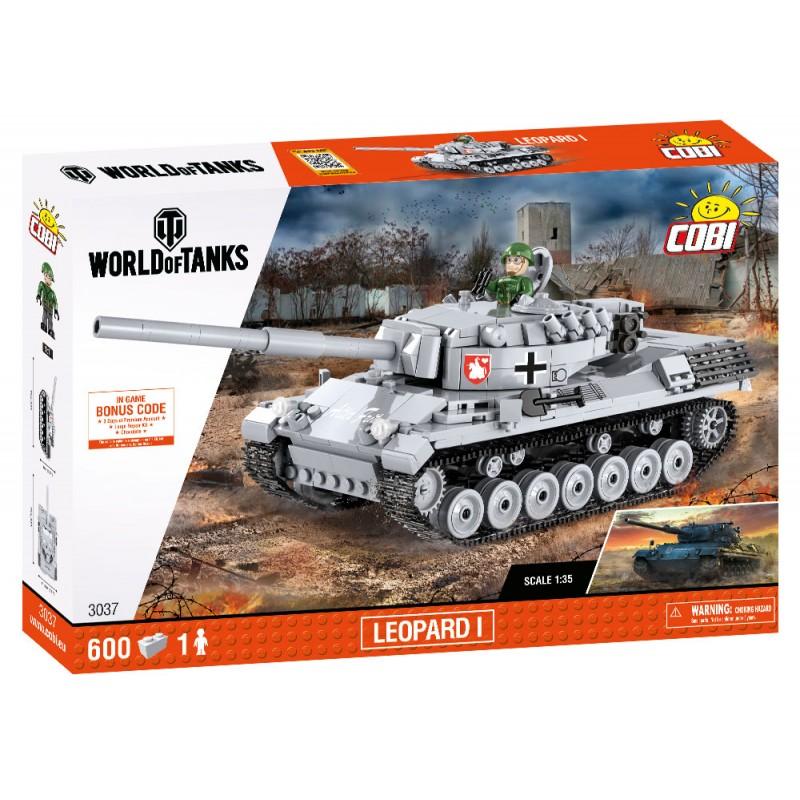 Cobi WOT Leopard I,1:35, 600 k, 1 f