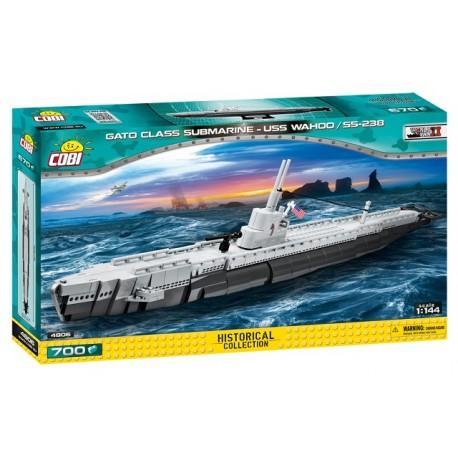 Cobi II WW Americká ponorka Gato USS Wahoo SS-238, 670 k