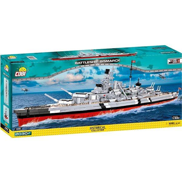 COBI II WW Bitevník Bismarck, 1:300, 2030 k