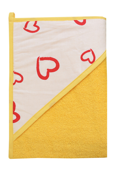 TEGA Osuška 100 x 100 cm 320g/m3 - žlutá