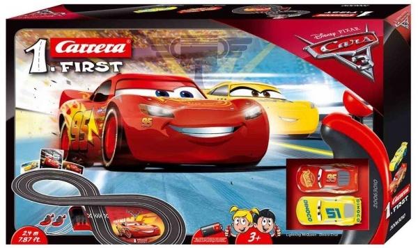 Carrera Autodráha FIRST - Disney Cars 3