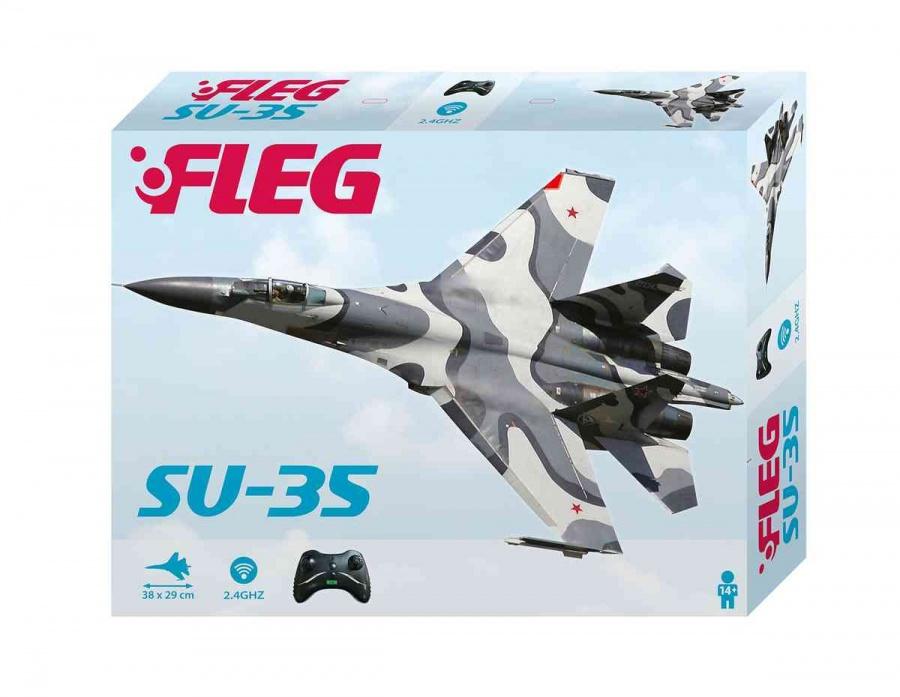Conquest SU-35 Letadlo na dálkové ovládání Fleg