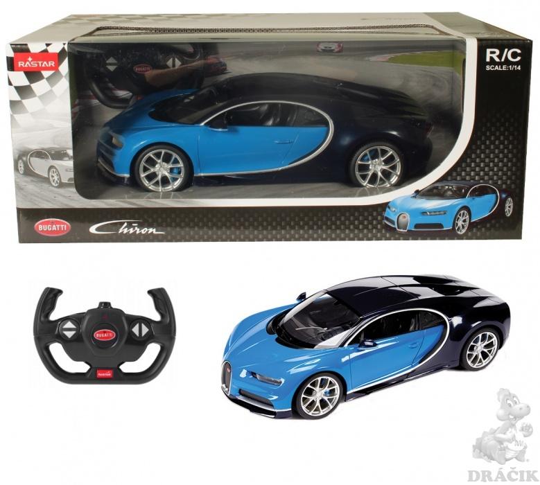 Conquest R/C auto Bugatti Veyron Chiron (1:14) blue