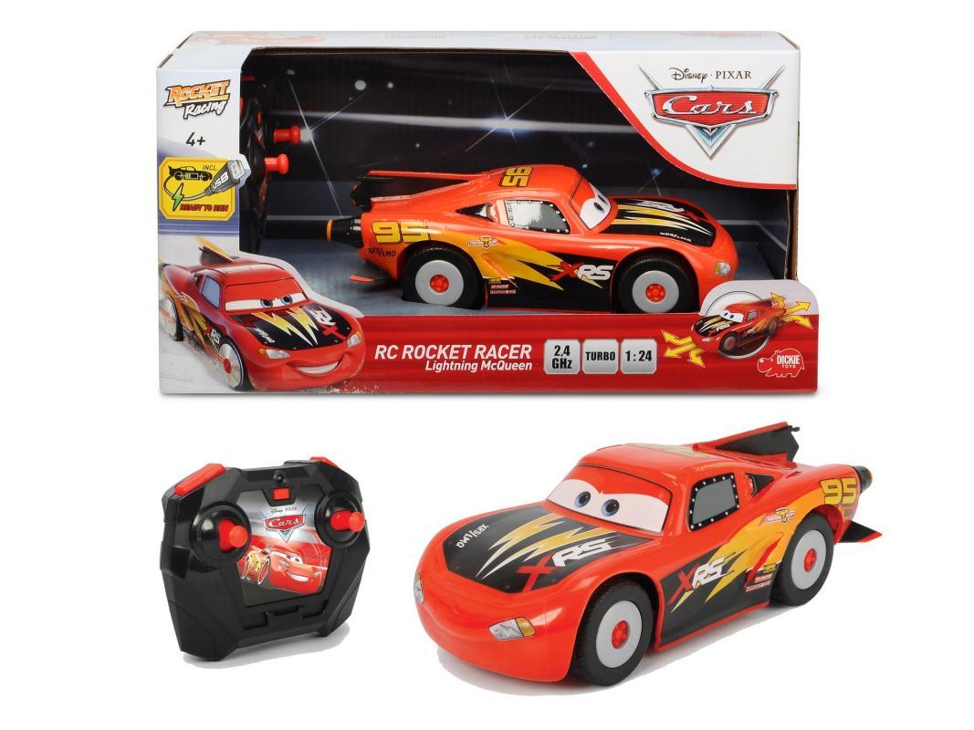 Dickie RC Cars Blesk McQueen Rocket Racer 1:24, 2kan