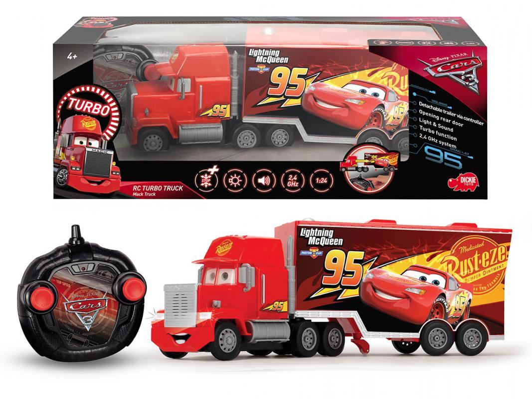 Dickie RC Cars 3 Turbo Mack Truck 46 cm, 3kanálový
