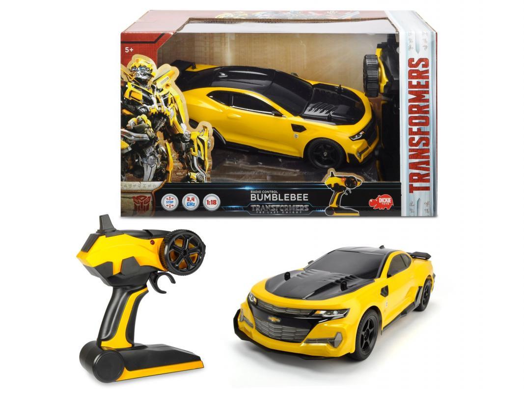 Dickie RC Transformers M5 Bumblebee 1:18, 24 cm Dickie