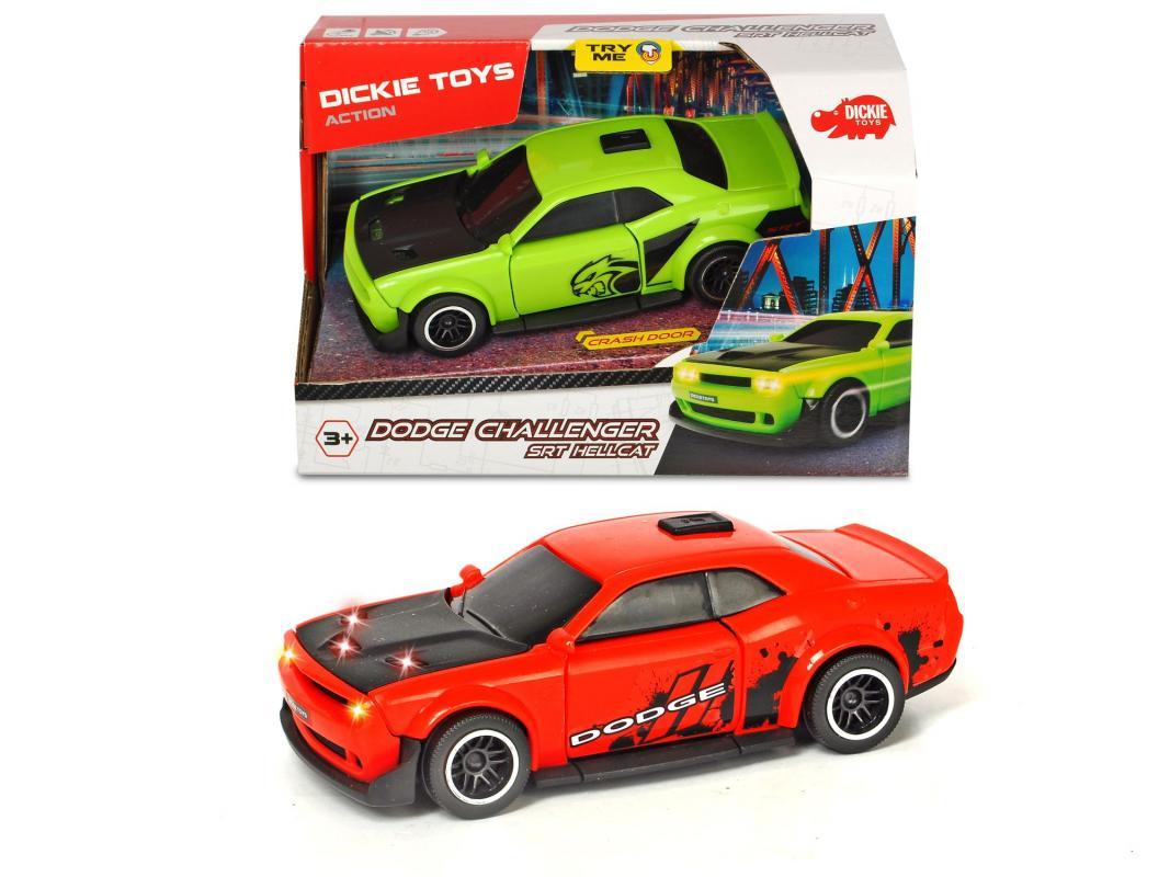 Dickie Auto Dodge Challenger SRT Hellcat, 2 druhy