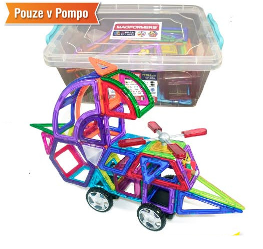 MAGFORMERS Pompo box Plus