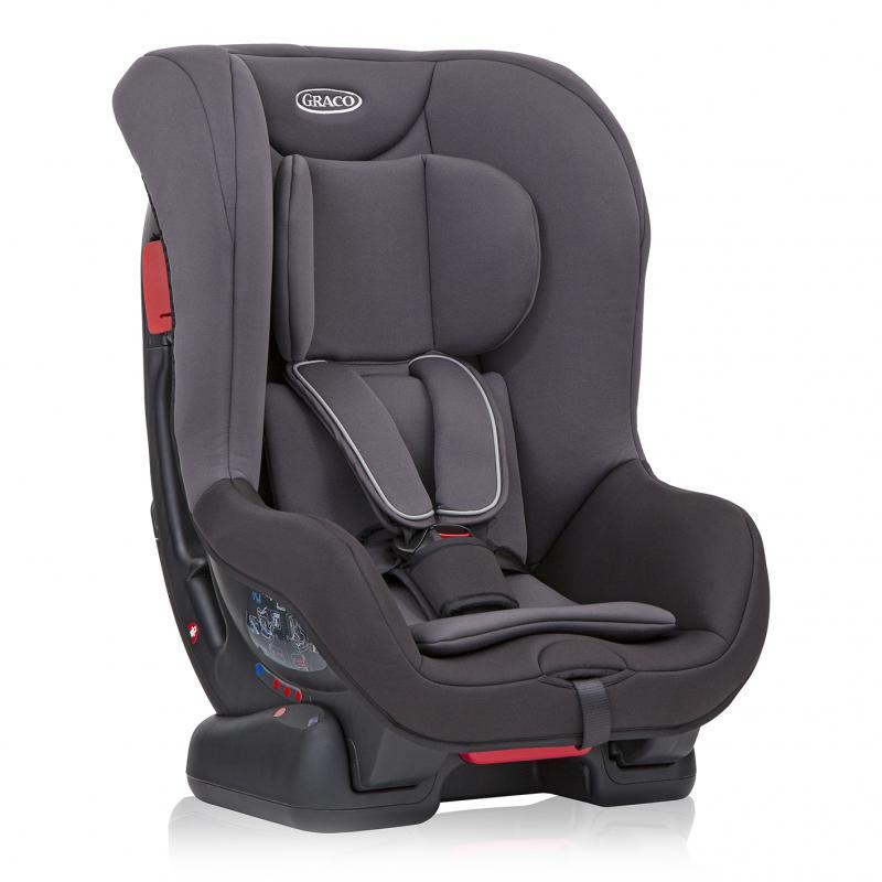 Graco Extend black / grey autosedačka 0-18 kg