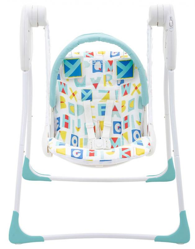 Graco Baby Delight 2019 block alphabet houpátko