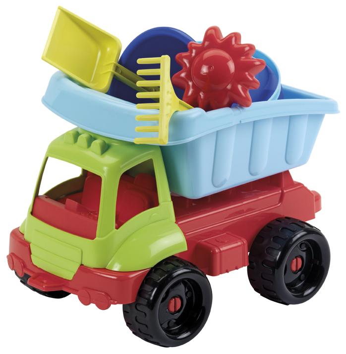 Ecoiffier Nákladní autíčko s formičkami 34cm