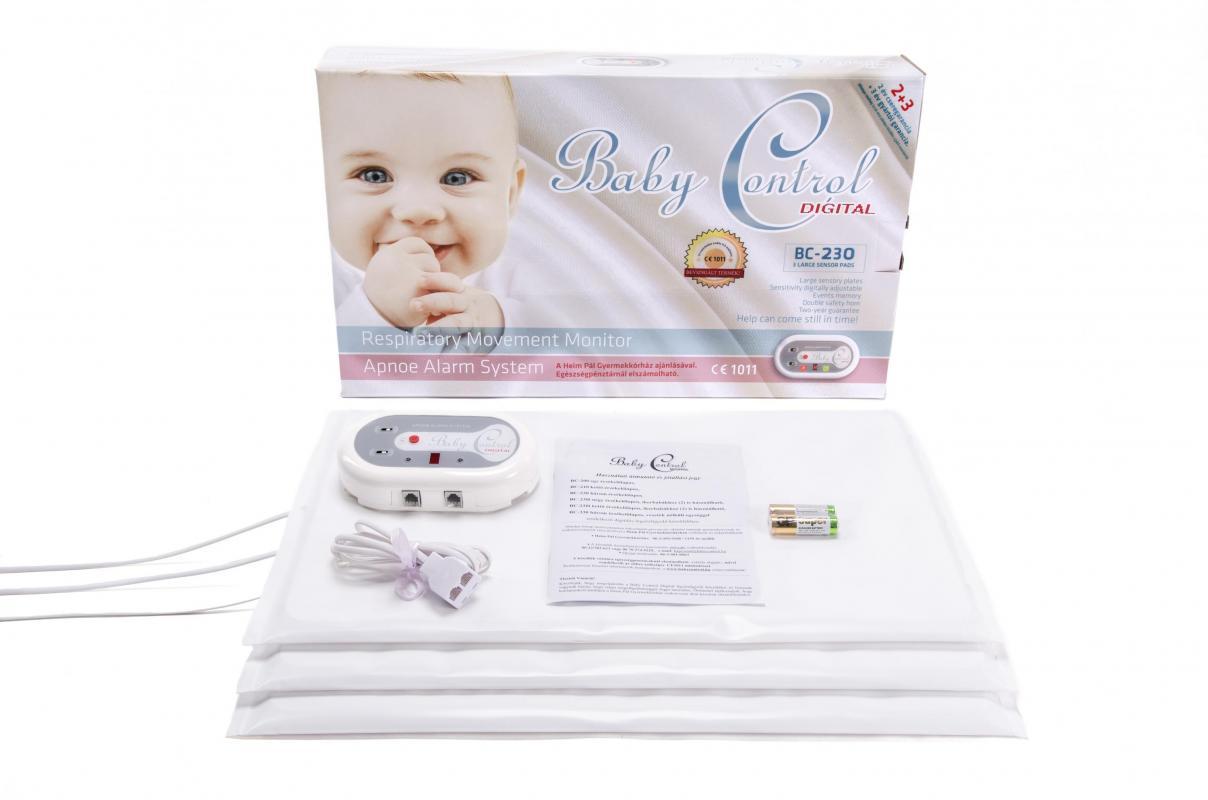 Monitor dechu Baby Control Digital BC-230