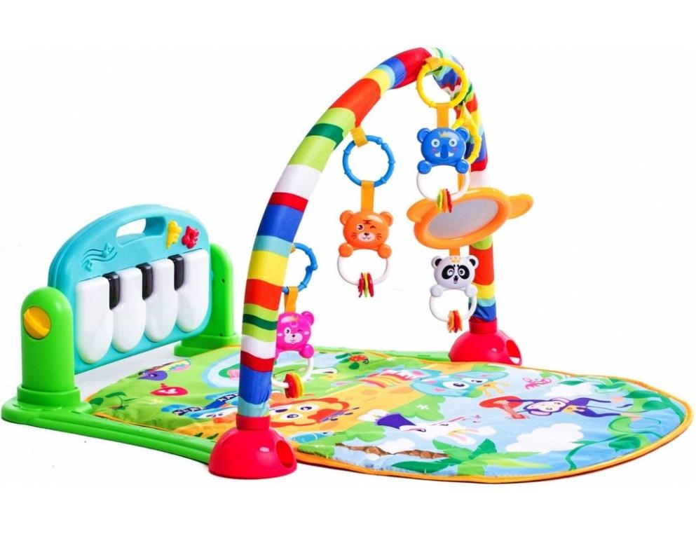 HUANGER hrací deka s pianem 3v1 DŽUNGLE