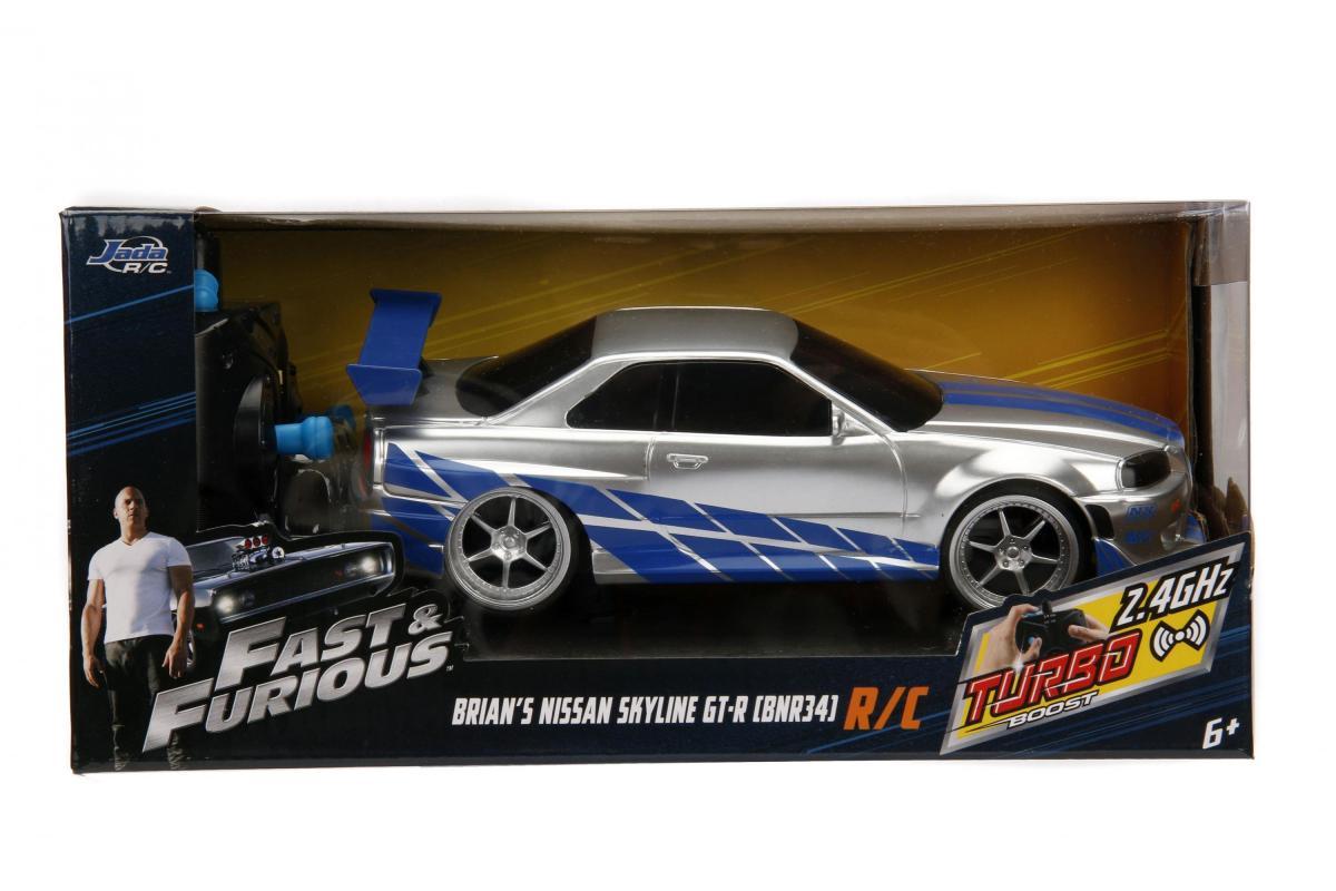 JADA Rychle a zběsile RC auto Nissan Skyline 1:24