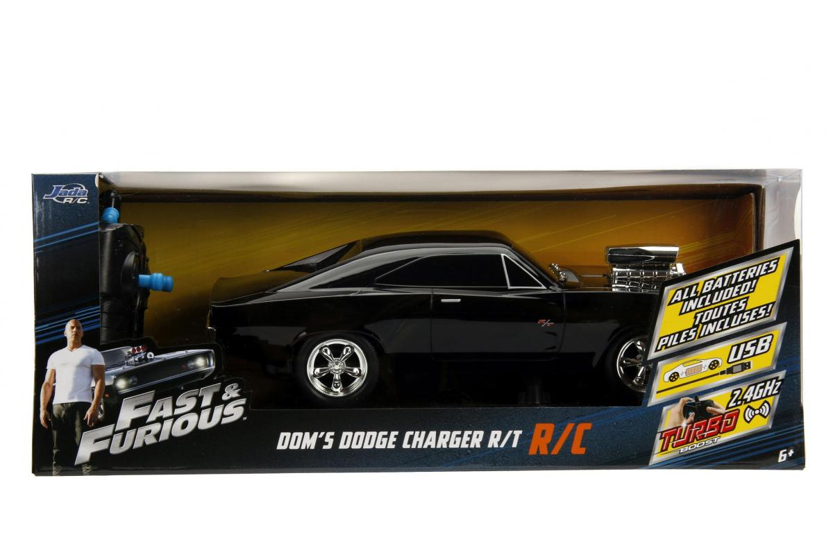 JADA Rychle a zběsile RC auto 1970 Dodge Charger 1:16