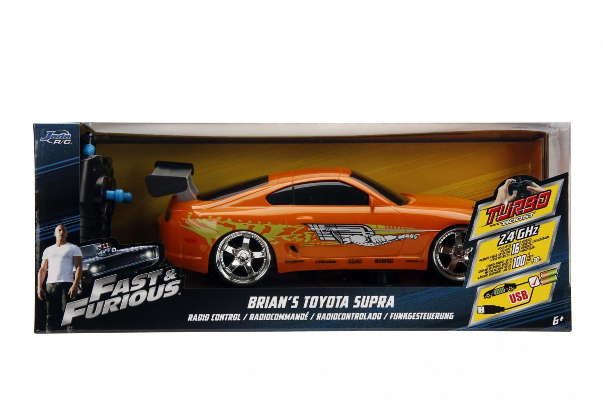 JADA Rychle a zběsile RC auto Brian's Toyota 1:16