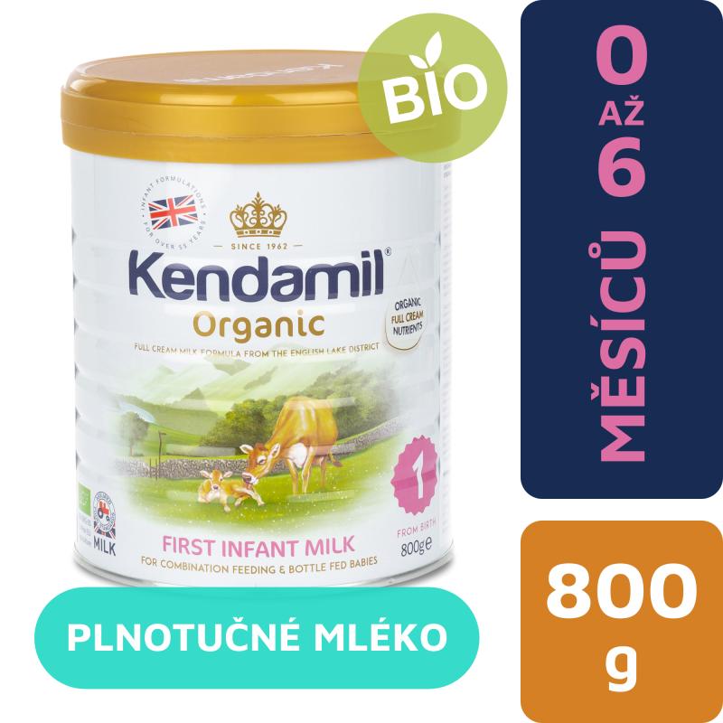 Kendamil kojenecké BIO mléko 1 (800g)