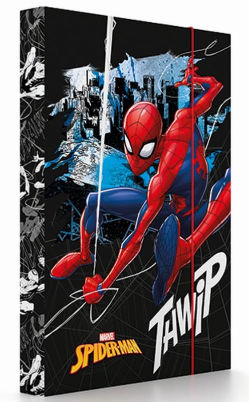 KARTON P+P Box na sešity A4 Spiderman