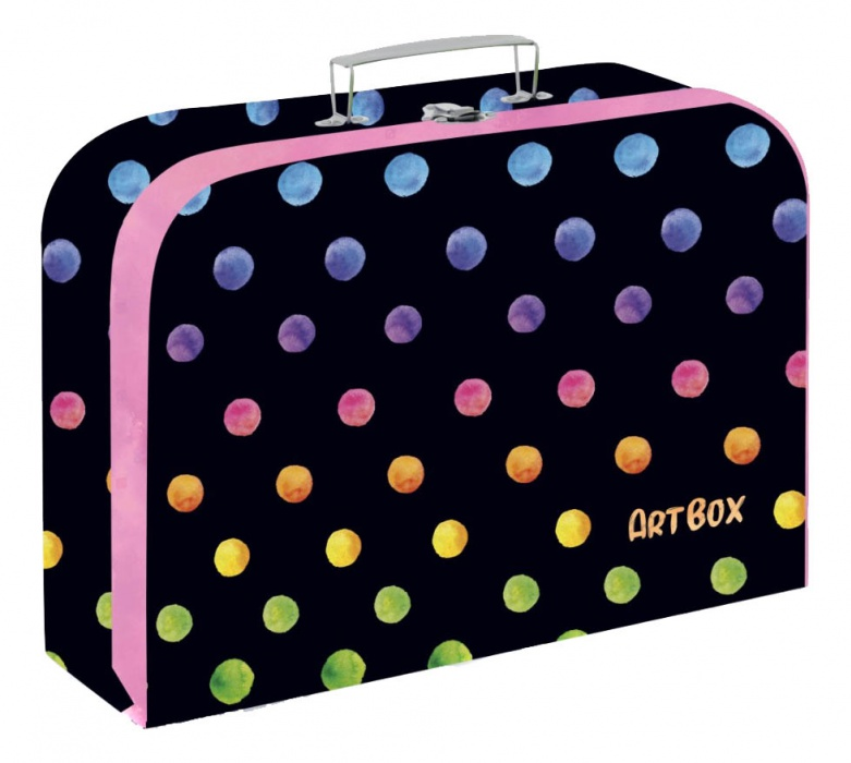 Oxybag Kufřík lamino 34 cm - Oxy Dots colors
