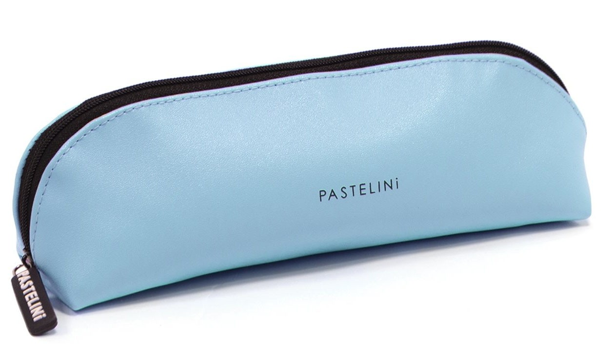 Karton P+P Pouzdro etue PU - PASTELINI modrá