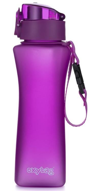 OXYBAG Láhev na pití 550 ml TRITAN - fialová-mat